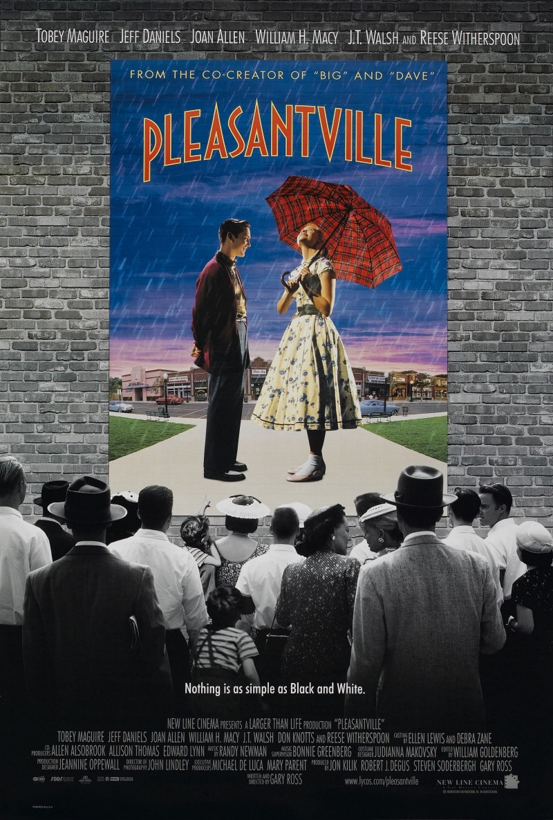 school finds pleasantville by gary ross the melbourne review of pleasantville