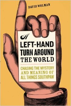 A LEFT HAND TURN AROUND THE WORLD Book Cover