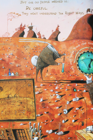 the rabbits by shaun tan and john marsden essay Allegory and artwork in john marsden also looked for other picture books that deal with big themes such as the rabbits by john marsden and shaun tan which.